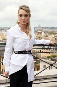 Carolina Crescentini at the photocall of