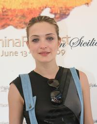 Carolina Crescentini at the 2009 Taormina Film Fest.