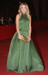 Carolina Crescentini at the premiere of