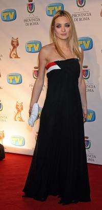Carolina Crescentini at the Italian TV Awards