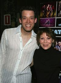 John Tartaglia and Alice Playten at the 60th Annual Theater World Awards.