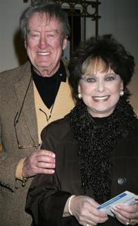 Tom Poston and Suzanne Pleshette at the celebrity opening night of