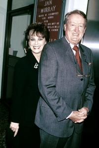 Suzanne Pleshette and Tom Poston at the Friars Club Tribute To Jan Murray.