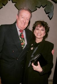 Suzanne Pleshette and Tom Poston at the performance by Polly Bergen prior her opening on Broadway in