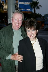 Suzanne Pleshette and Tom Poston at the show