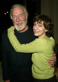 Christopher Plummer and Amanda Plummer at the after party of the opening night of