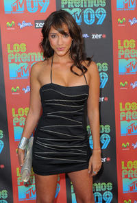 Fernanda Romero at the Los Premios MTV 2009 in California.