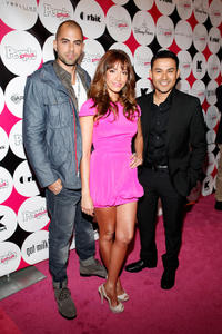 Adrian Bellani, Fernanda Romero and Frankie J at the 15th Annual People En Espanol