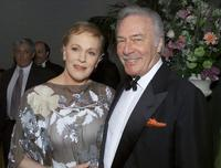 Christopher Plummer and Julie Andrews at the Society of Singers' 10th Annual Ella Award.