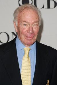 Christopher Plummer at the 2007 Tony Awards nominees press reception.
