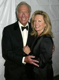 Christopher Plummer and his wife the Richard Rogers Centennial Benefit concert.
