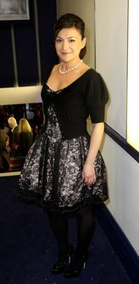 Alexis Zegerman at the UK premiere of