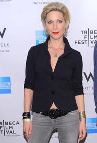 Katie O'Grady at the Tribeca Film Festival Awards in New York.