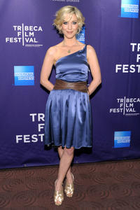 Katie O'Grady at the premiere of