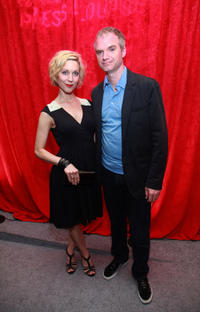 Katie O'Grady and director James Westby at the Filmmaker & Press Cocktail party during the 2011 Tribeca Film Festival.