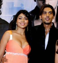Shriya Saran and Zayed Khan at the promotional event of