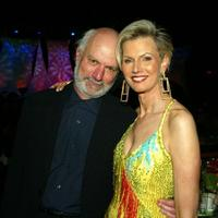 James Burrows and Laurie Burrows Grad at the Alzheimer's Association's 11th Annual A Night at Sardi's.