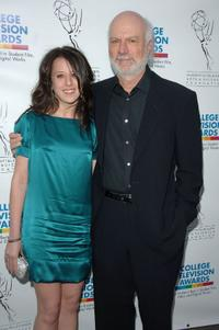 Ellie Burrows and James Burrows at the ATAS Foundation's 28th Annual College Television Awards.