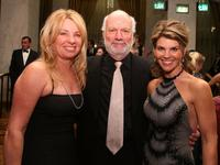 Debbie Easton, James Burrows and Lori Loughlin at the 11th Annual Costume Designers Guild Awards.