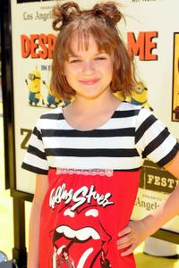 Joey King at the premiere of