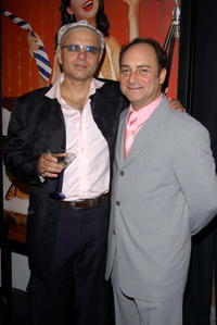 Kevin Pollack and Joe Pantoliano at the SKYY Vodka Short Film Awards.
