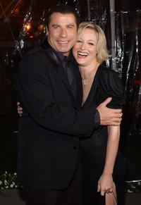 John Travolta and Teri Polo at the premiere of