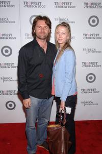John Polson and Amanda Polson at the Tropfest during the 5th Annual Tribeca Film Festival.