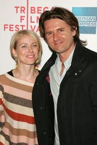 Naomi Watts and John Polson at the Tropfest during the 5th Annual Tribeca Film Festival.