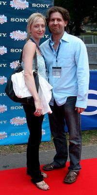 Amanda Harding and John Polson at the Sony Tropfest 2007 short film festival.