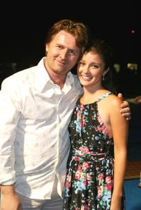 John Polson and Shiri Appleby at the premiere of