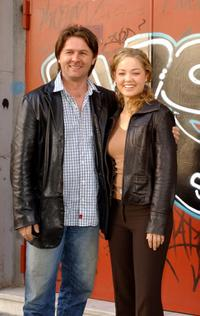 John Polson and Erika Christensen at the photocall of