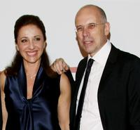 Carla Signoris and Gabriele Salvatores at the premiere of