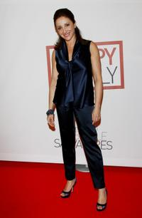 Carla Signoris at the premiere of