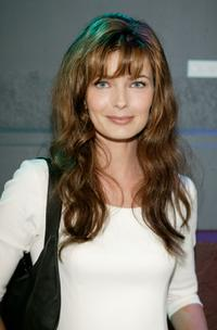 Paulina Porizkova at the launch of