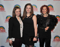 Sarah Blush, Sabrina Jaglom and Barbara Flood at the New York premiere of