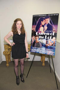 """Sabrina Jaglom at the premiere of """"Queen of the Lot."""""""