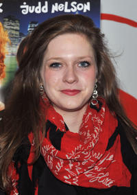 """Sabrina Jaglom at the New York premiere of """"Just 45 Minutes From Broadway."""""""
