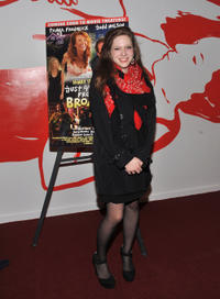 Sabrina Jaglom at the New York premiere of