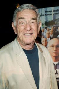 Shelley Berman at the Premiere of