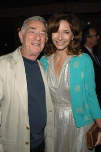 Shelley Berman and Mary Steenburgen at the after party of the Los Angeles premiere of
