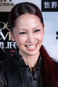Mika Nakashima at the Japan premiere of