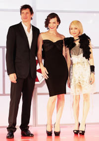 Paul W S Anderson, Milla Jovovich and Mika Nakashima at the World premiere of