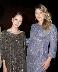 Mika Nakashima and Ali Larter at the after party of the Japan premiere of