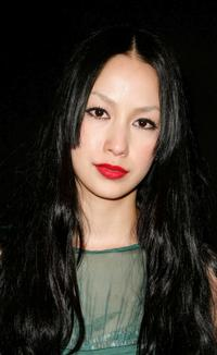 Mika Nakashima at the Philosophy Di Alberta Ferretti Presentation during the Mercedes-Benz Fashion Week 2009.