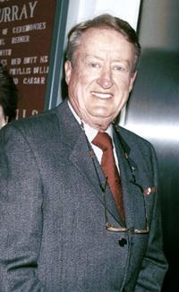 Tom Poston at the Friars Club tribute to actor/comedian Jan Murray.