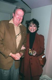 Tom Poston and Suzanne Pleshette at the cabaret opening of