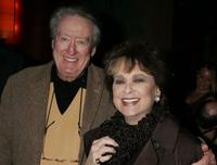Tom Poston and Suzanne Pleshette at the after party of the opening night of