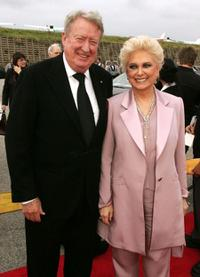 Tom Poston and Suzanne Pleshette at the 2005 TV Land Awards.