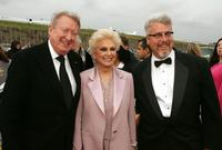 Tom Poston, Suzanne Pleshette and Larry Jones at the 2005 TV Land Awards.