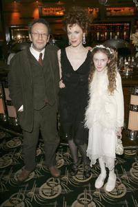 Alan Corduner, Madeleine Potter and Madeleine Daly at the after party of the UK premiere of